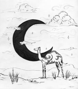 Падишахів вибір. Ілюстрація Лідії Забродської.